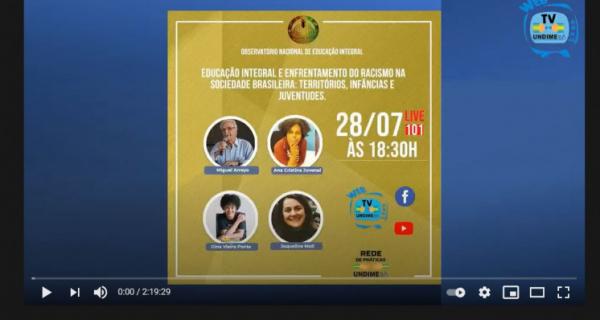 Enfrentamento do racismo é tema do quinto encontro do Curso de extensão universitária da Federal da Bahia