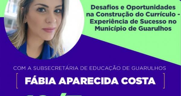 Currículo da Educação Básica entra em debate nesta segunda feira (12/07) em webinário gratuito da Prefeitura