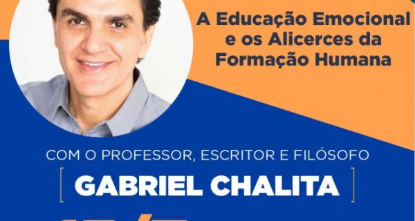 Gabriel Chalita participa do Webinário da Educação nesta quinta-feira (15/07)